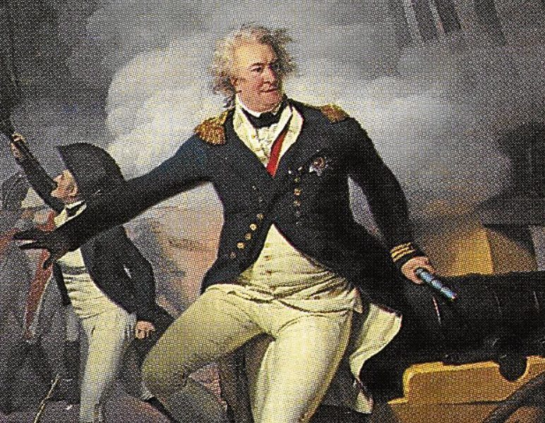 Admiral Viscount Lord Duncan Victorious at Camperdown