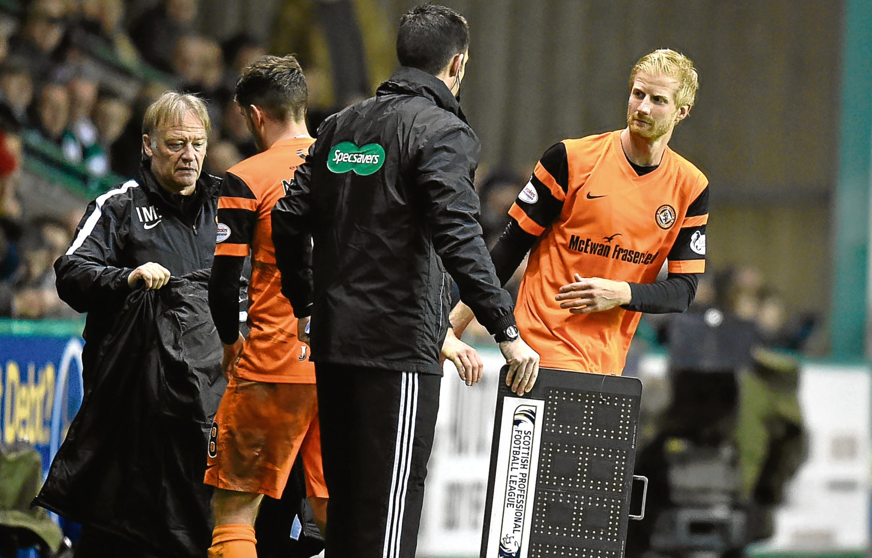 Thomas Mikkelsen made his debut off the bench on Friday.