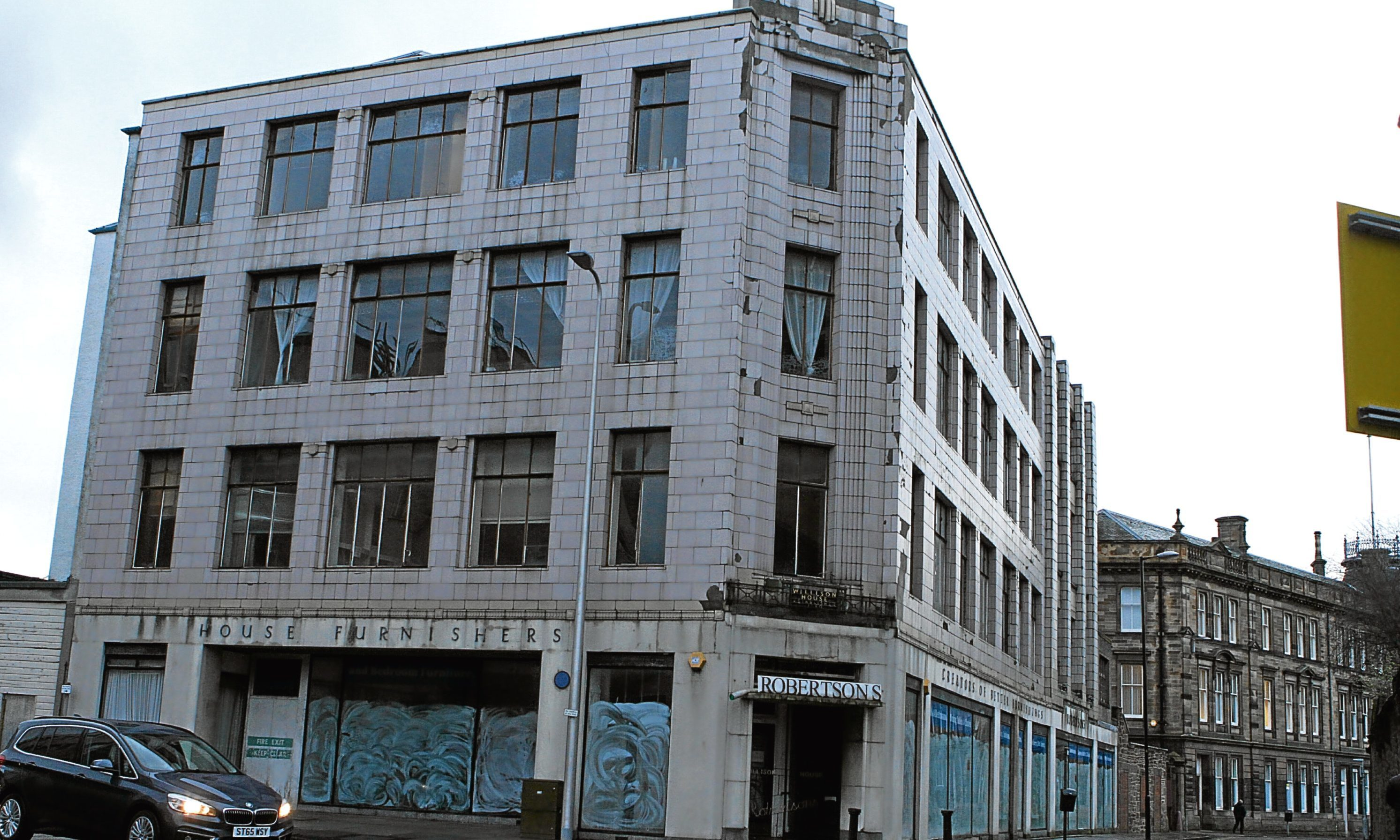 The former Robertson's furniture store in Barrack Street.