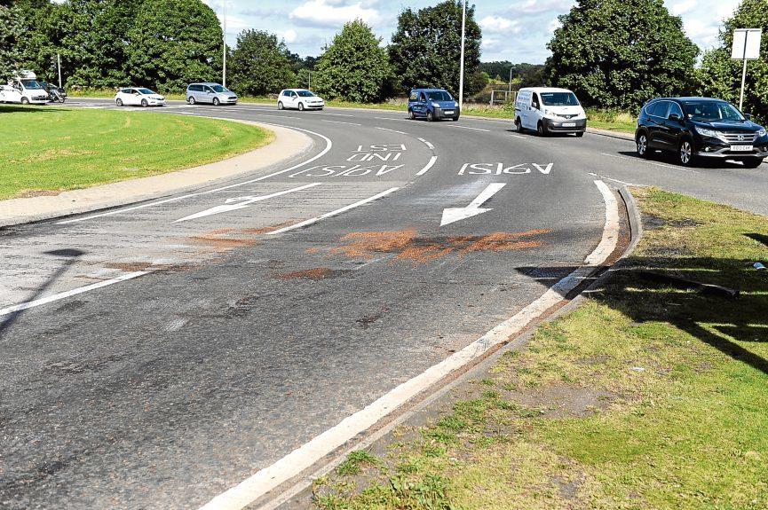 The Inveralmond roundabout.
