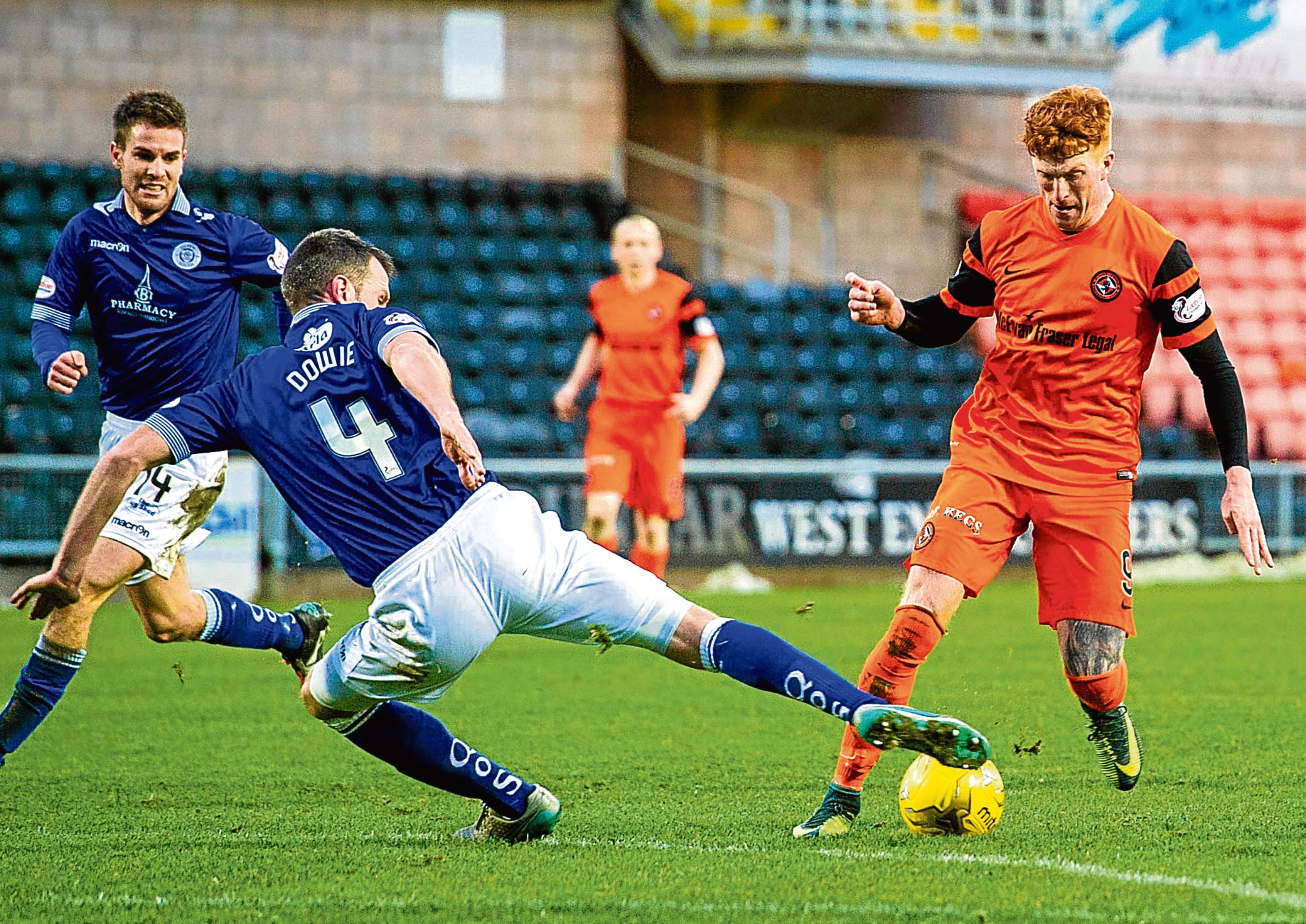 Simon Murray was praised for his display against Queen of the South last Saturday.