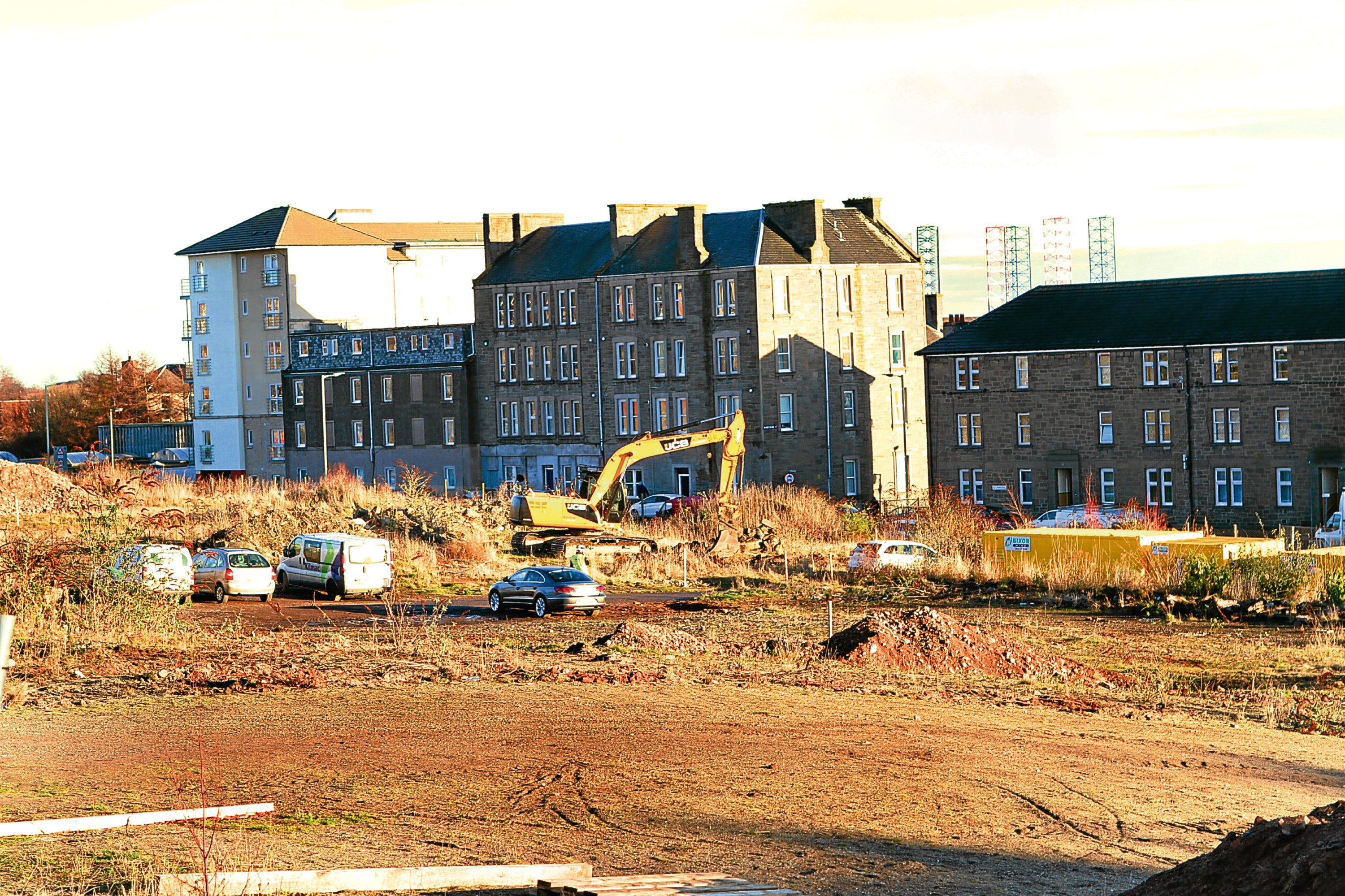 Site of the new school on Coldside campus