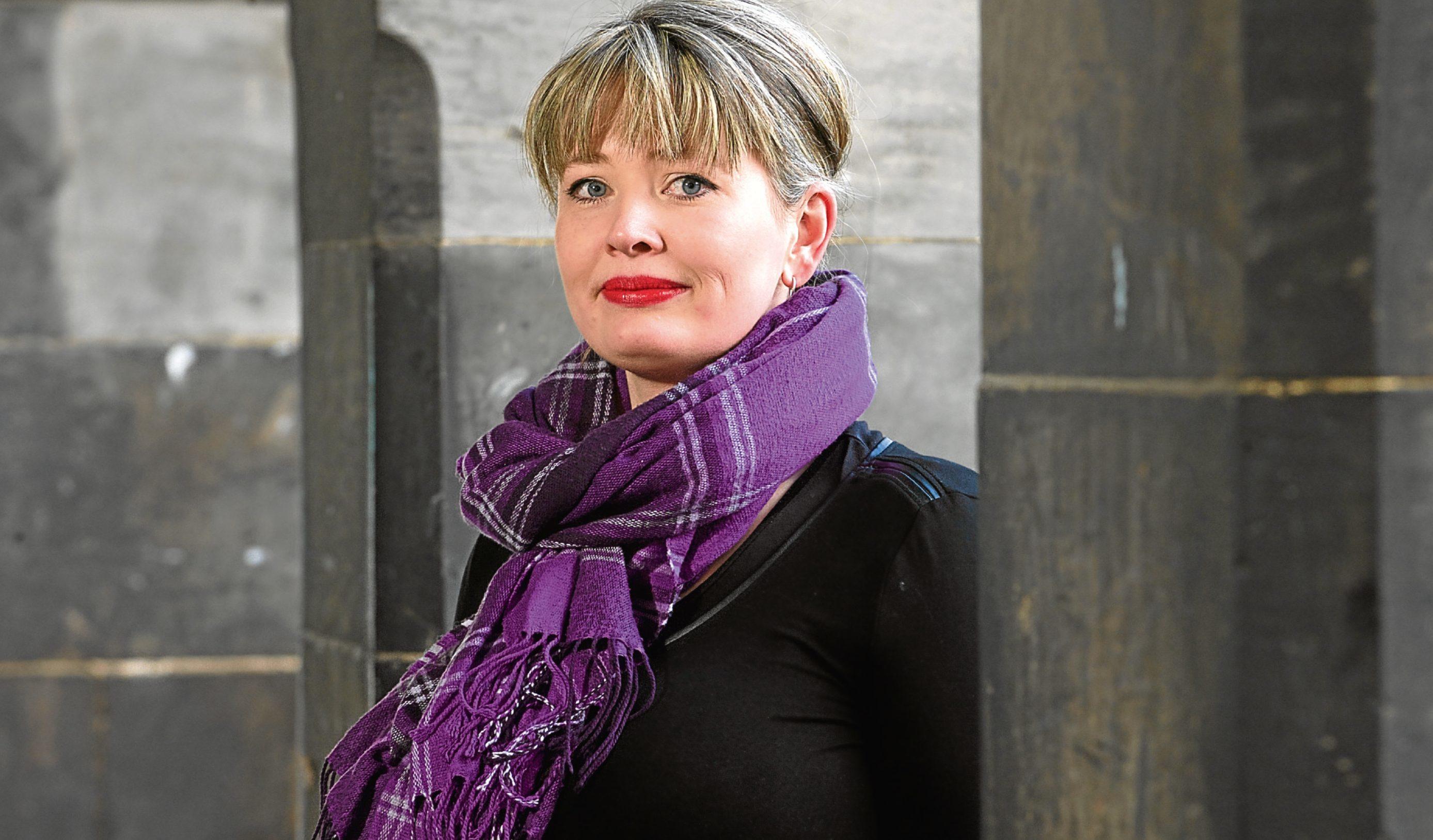 Dundee writer Anna Stewart