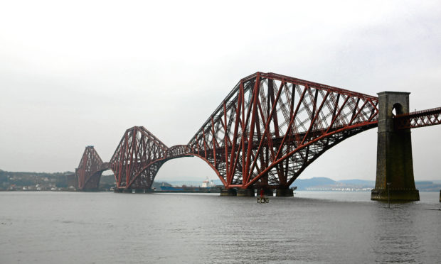 The Forth Rail Bridge has been closed in both directions.