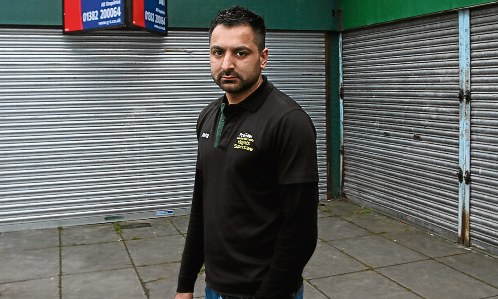 Akky Hayat, who is backing the campaign to regenerate shops in Dundee.