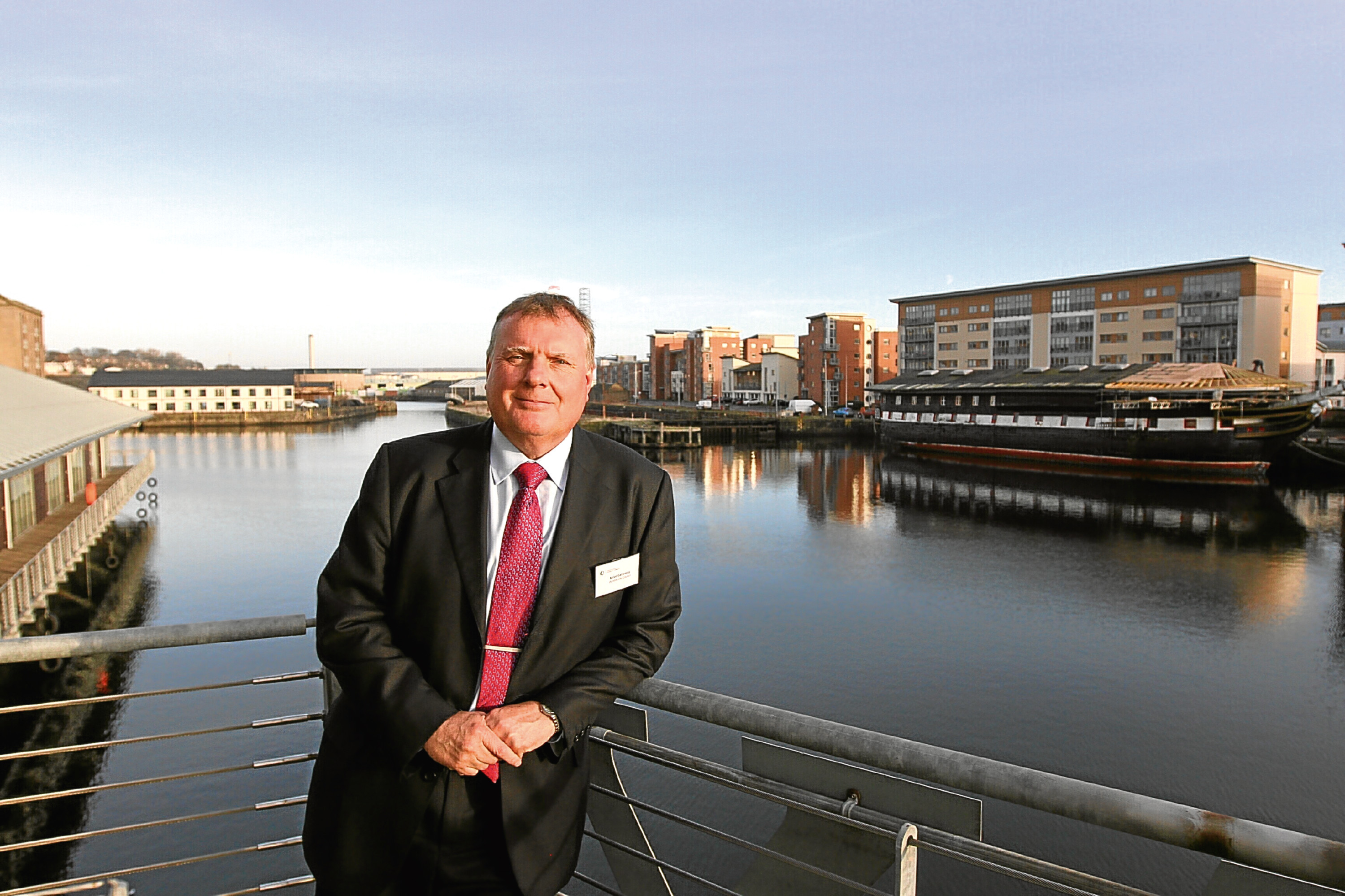 Dundee City Council's Mike Galloway, who is backing the Tele's campaign.