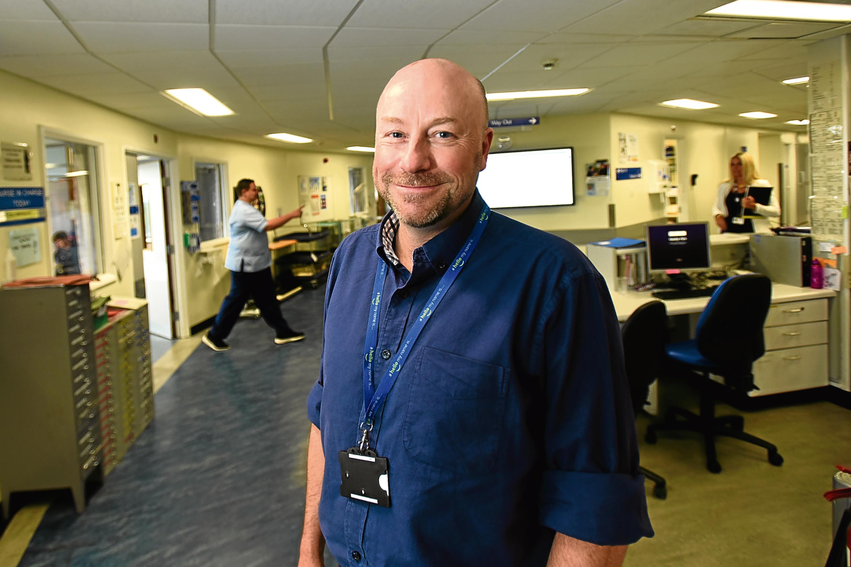 George Doherty of NHS Tayside