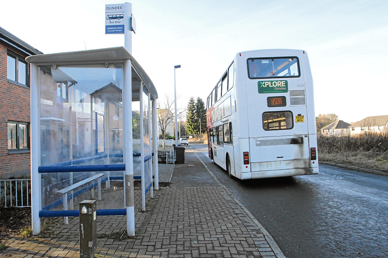 An Xplore Dundee bus