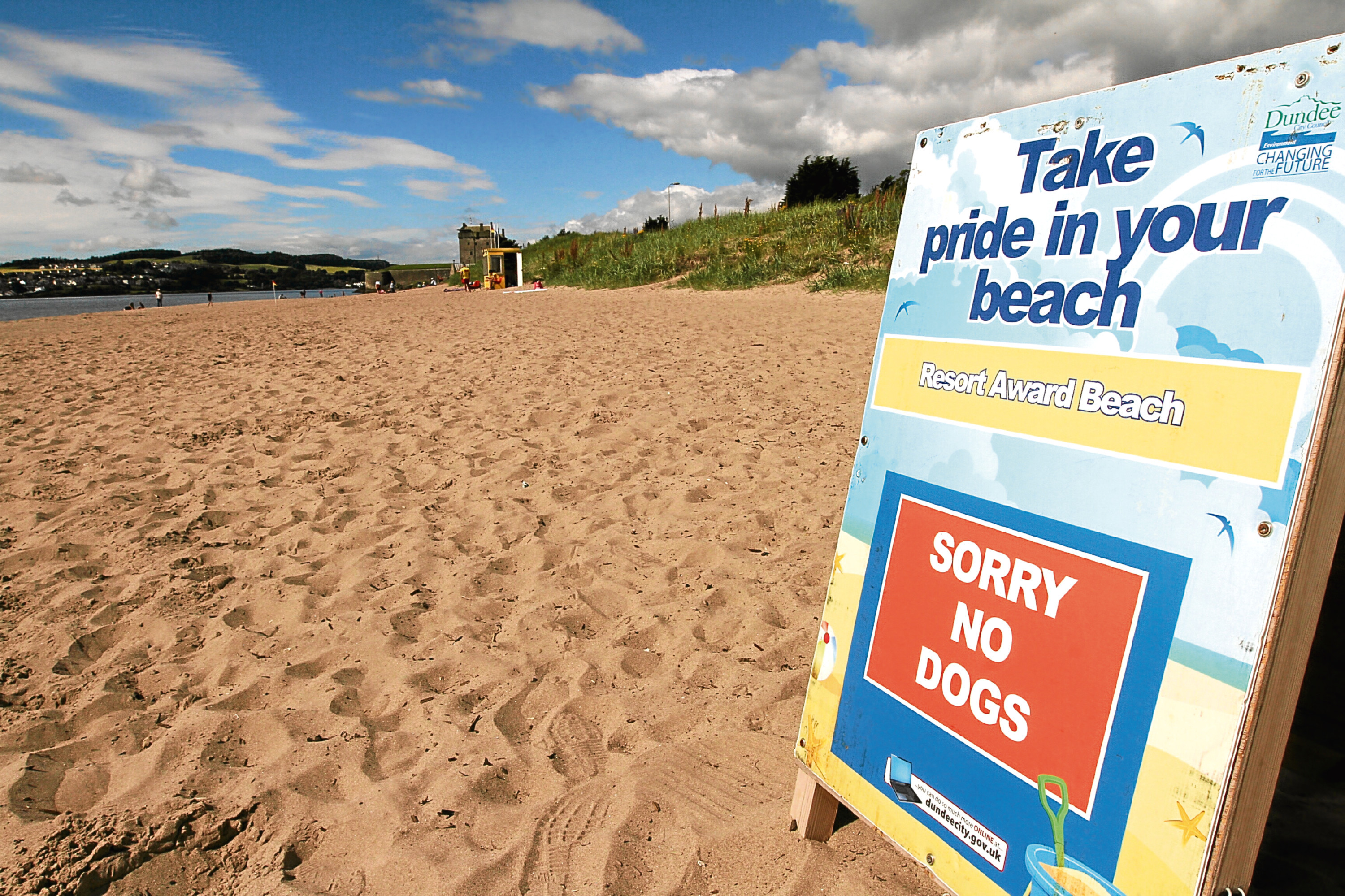Broughty Ferry beach, where one of the events will be hosted.