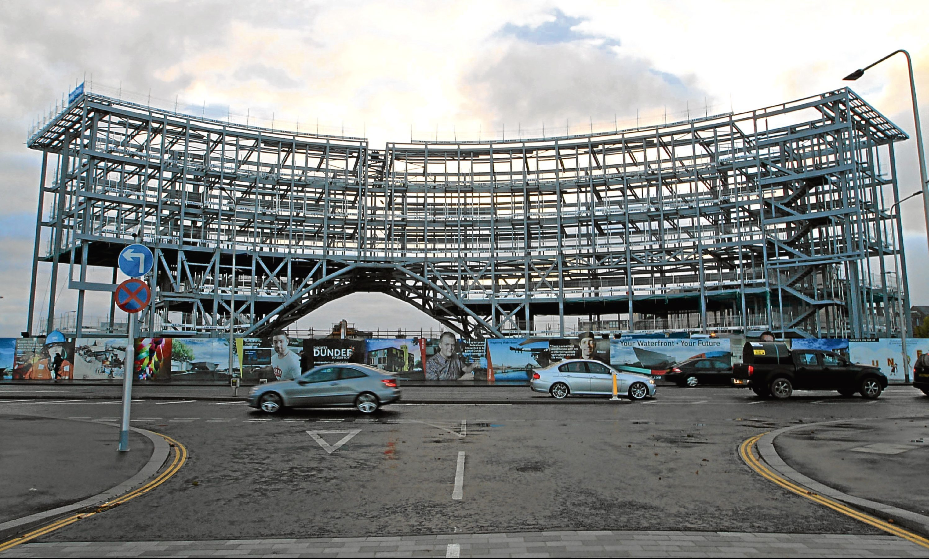 Dundee's new railway station in development