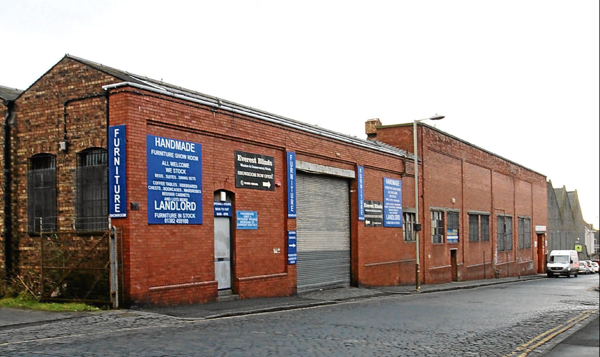 The former Taybank Works on Morgan Street