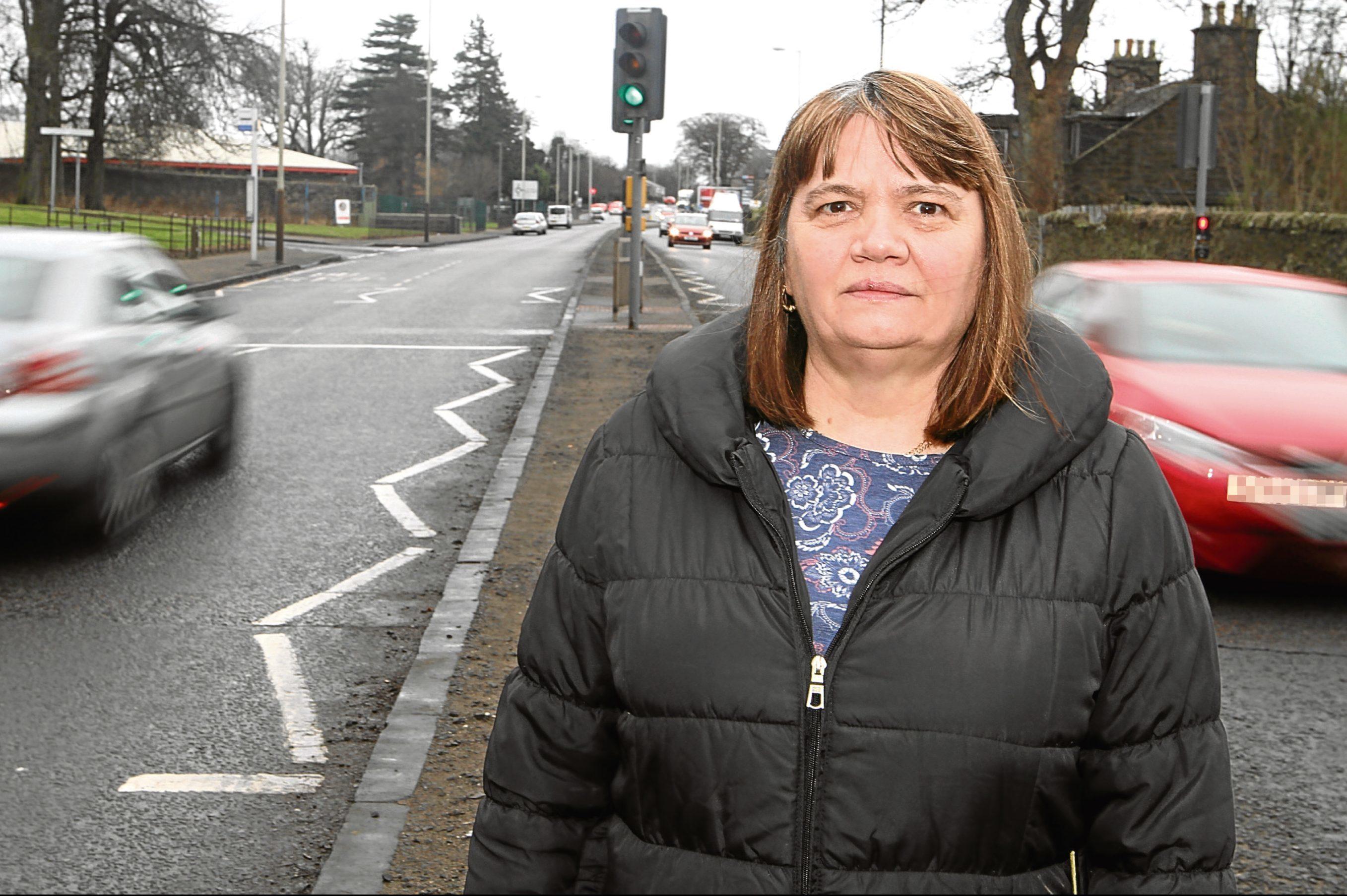 Harefield Road resident Alison Cochrane.
