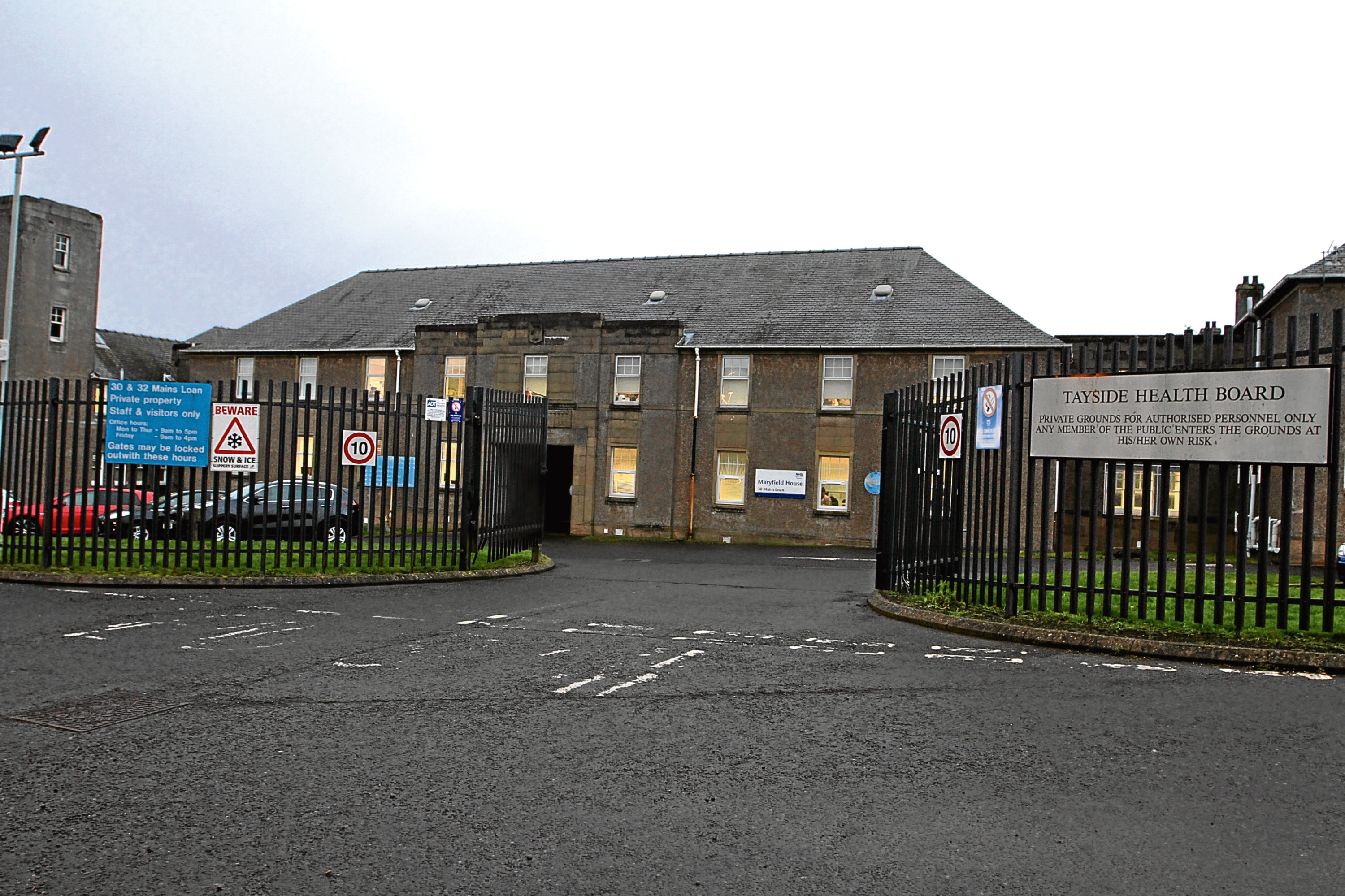 Maryfield is currently being used as Tayside Health Board offices.