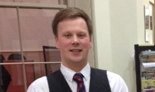Teacher Stewart Findlay