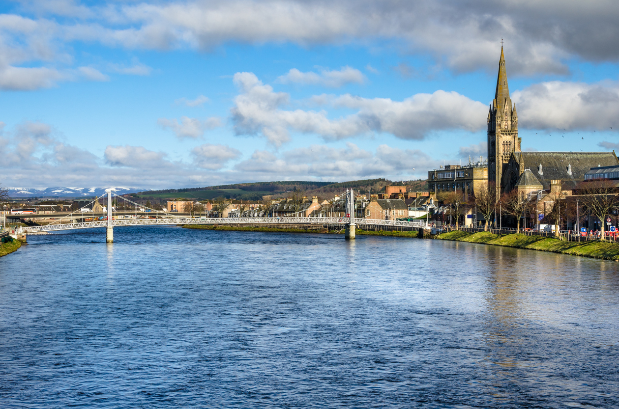 Inverness recently secured £315m in funding
