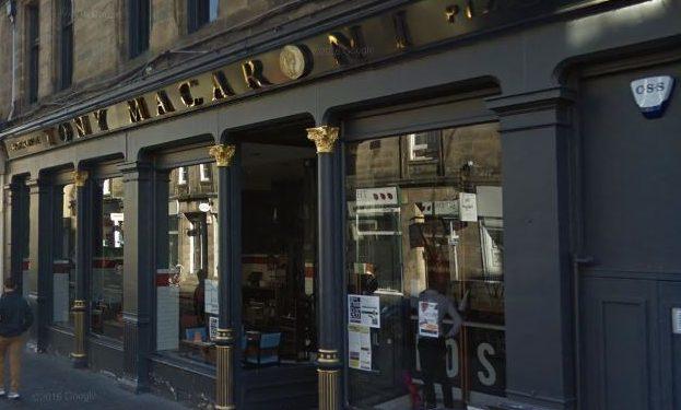Tony Macaroni in St Andrews