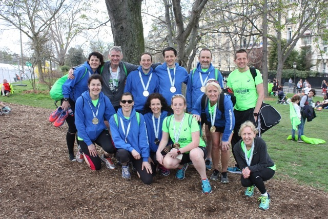 Throughout 2016, the Dundee Roadrunners expanded membership by a massive 40%, now boasting 145 members. Four weekly training sessions include trails, hill sessions, marathon training and short speed work. The club have had groups running at the Paris Marathon (see picture above), the Clova Half-Marathon and numerous cross country races.