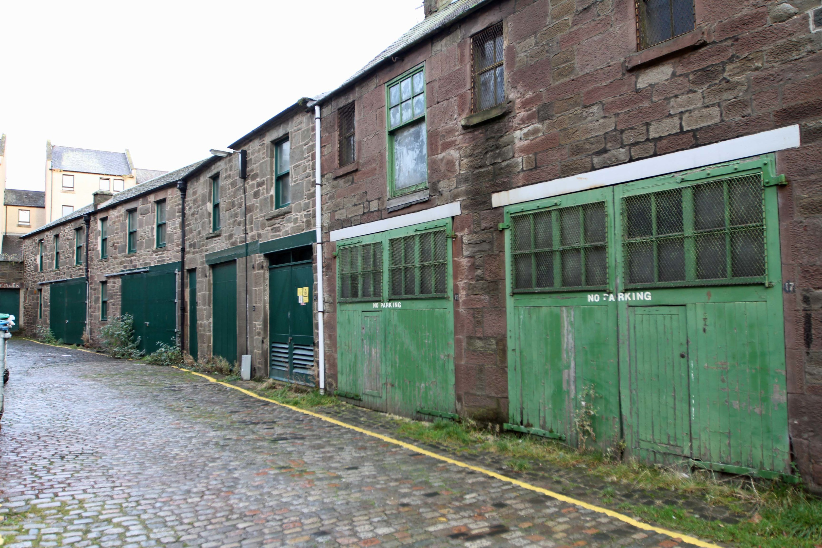The Tay Street Lane Mews.