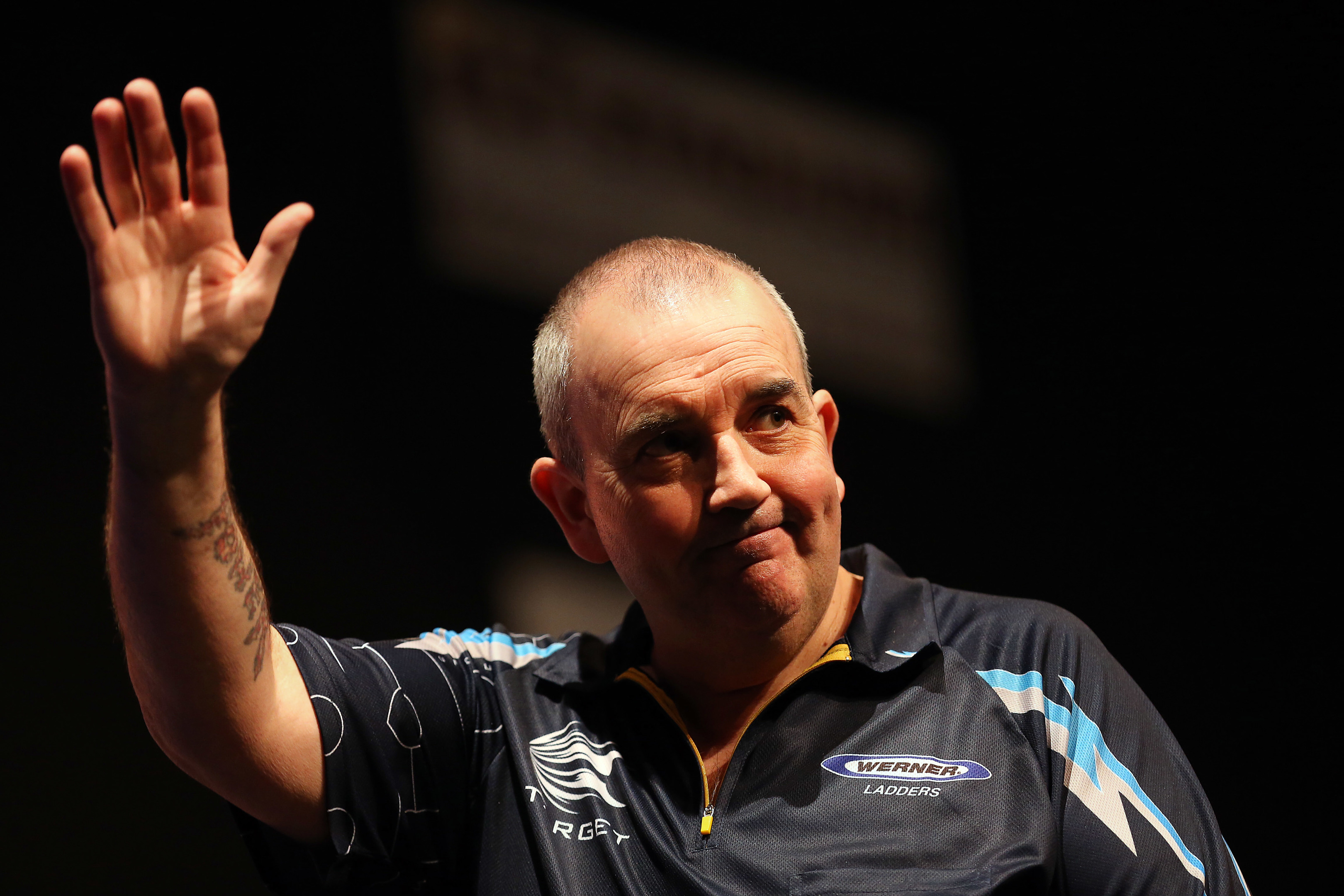 Phil 'the Power' Taylor will come to the area for a special darts event.