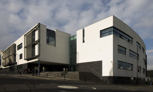 The University of Dundee's Dalhousie Building will host the jobs fair.