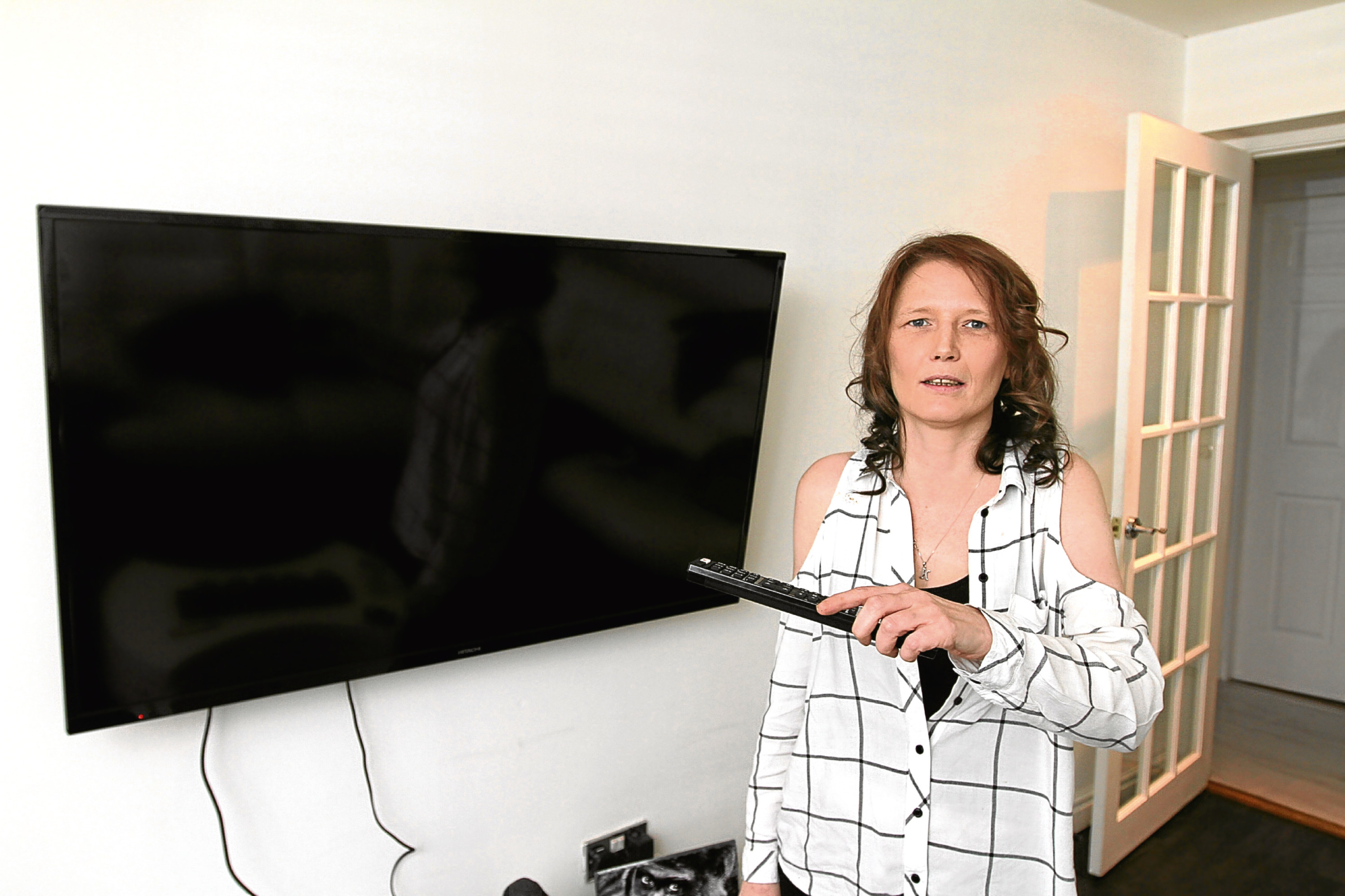 Karen has been involved in a dispute with Argos who, she says, have sold her four faulty TVs.