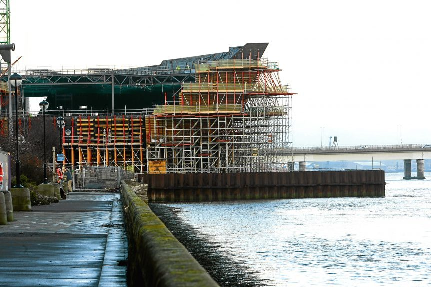 Work at the V&A in Dundee