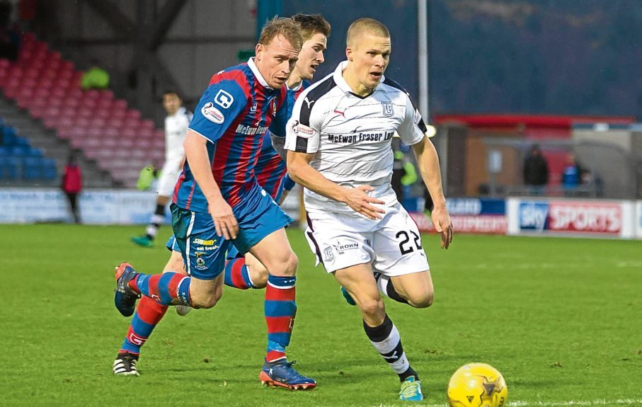 Dundee blew a two-goal lead the last time they met Inverness