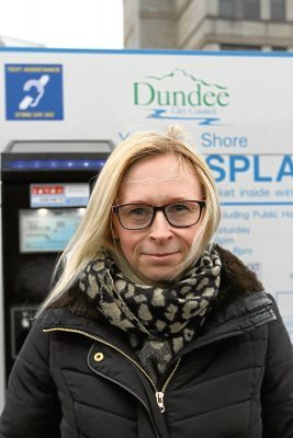 """Louise Macfarlane, 40, from Denhead of Gray, said: """"It costs so much already to park in Dundee. I pay £90 for a monthly pass and that will likely increase again."""""""