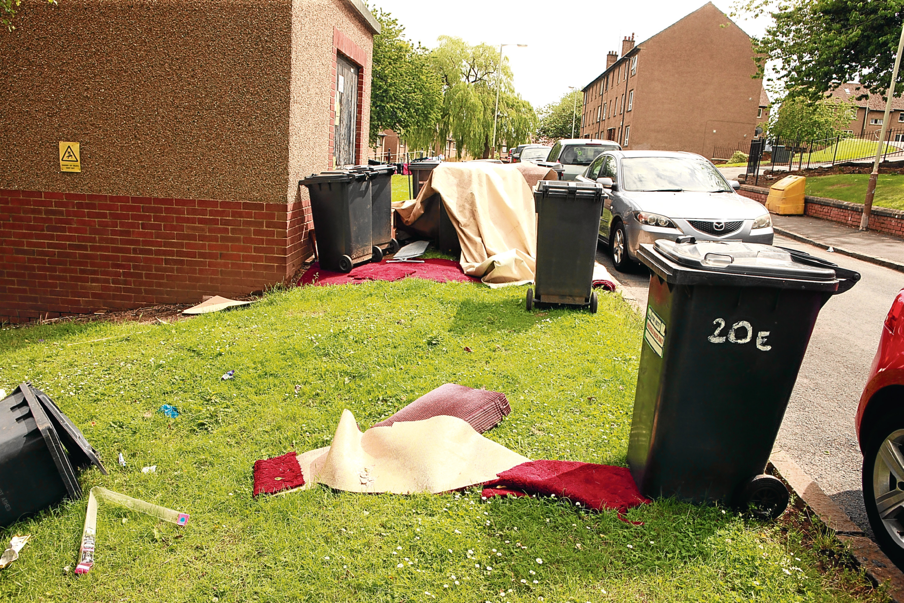 Fly-tipping is a blight on many areas