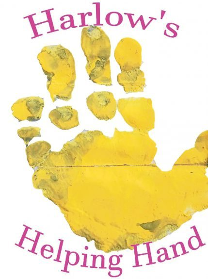 The Harlow's Helping Hand logo