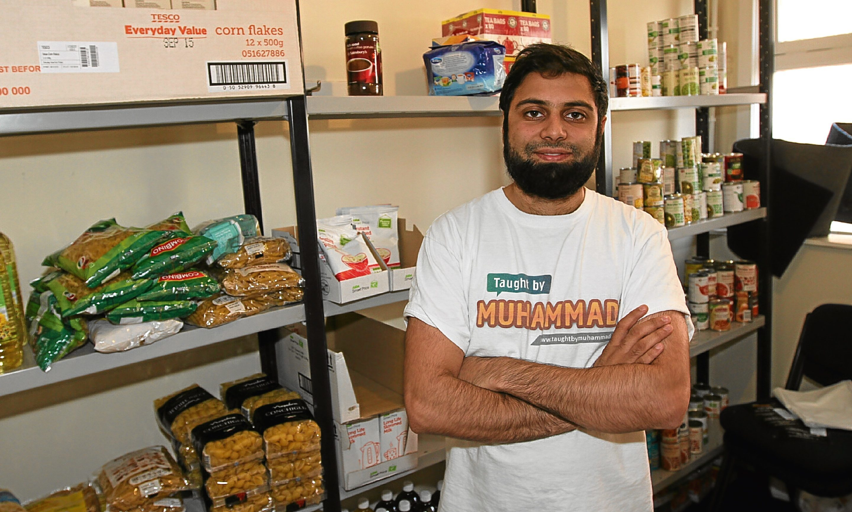 Pictured is Rizwan Rafik, operations manager at Taught by Muhammad.