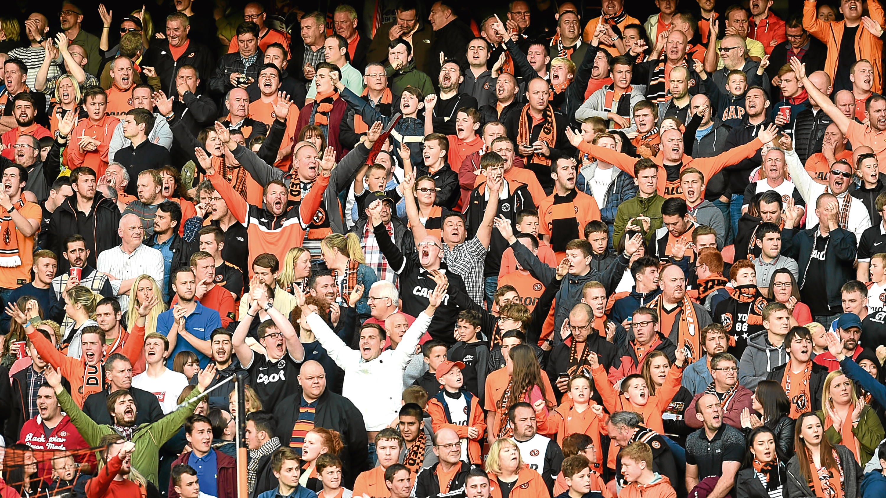 10,000 fans are expected to descend on Tannadice for the March 10 match.