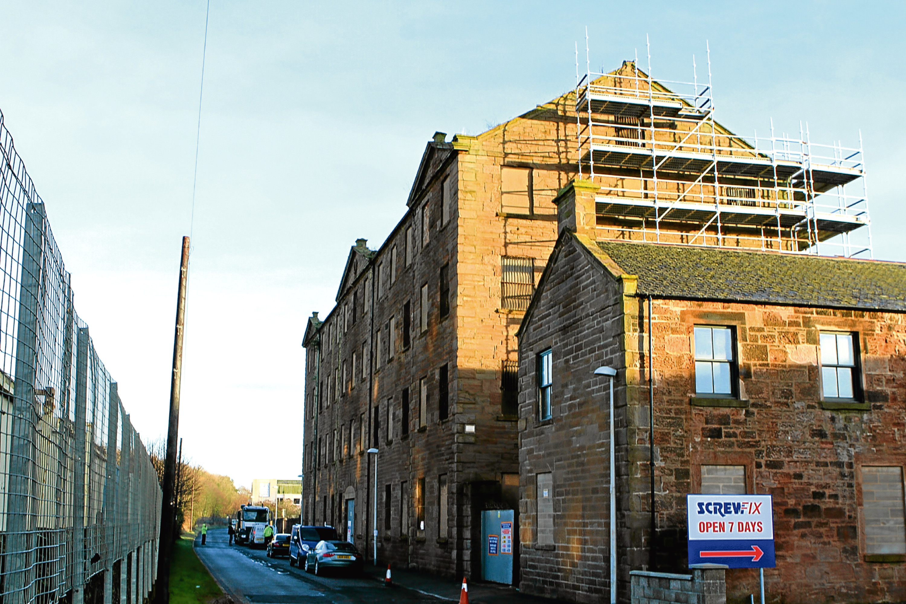 The former Baltic Works in Arbroath