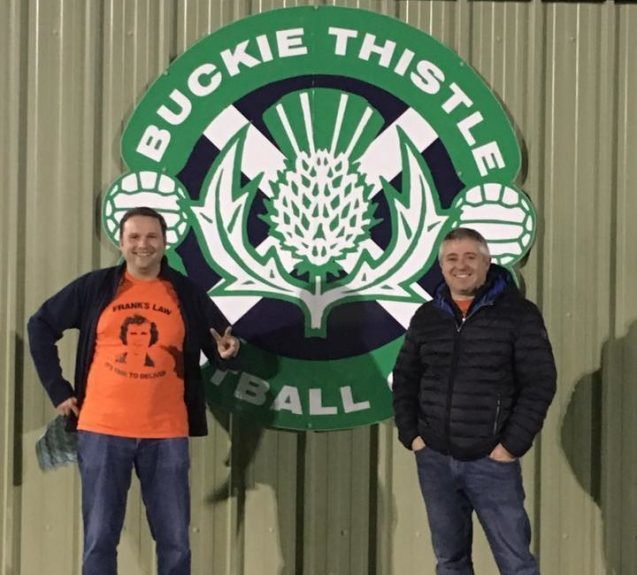 At Buckie Thistle