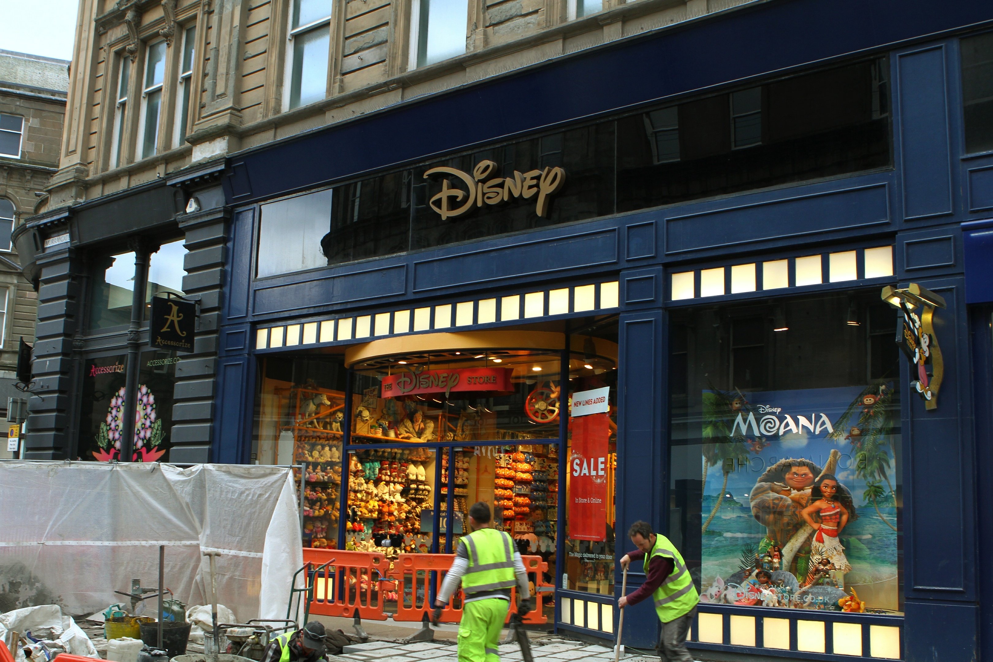 The Disney Store in Murraygate is to close