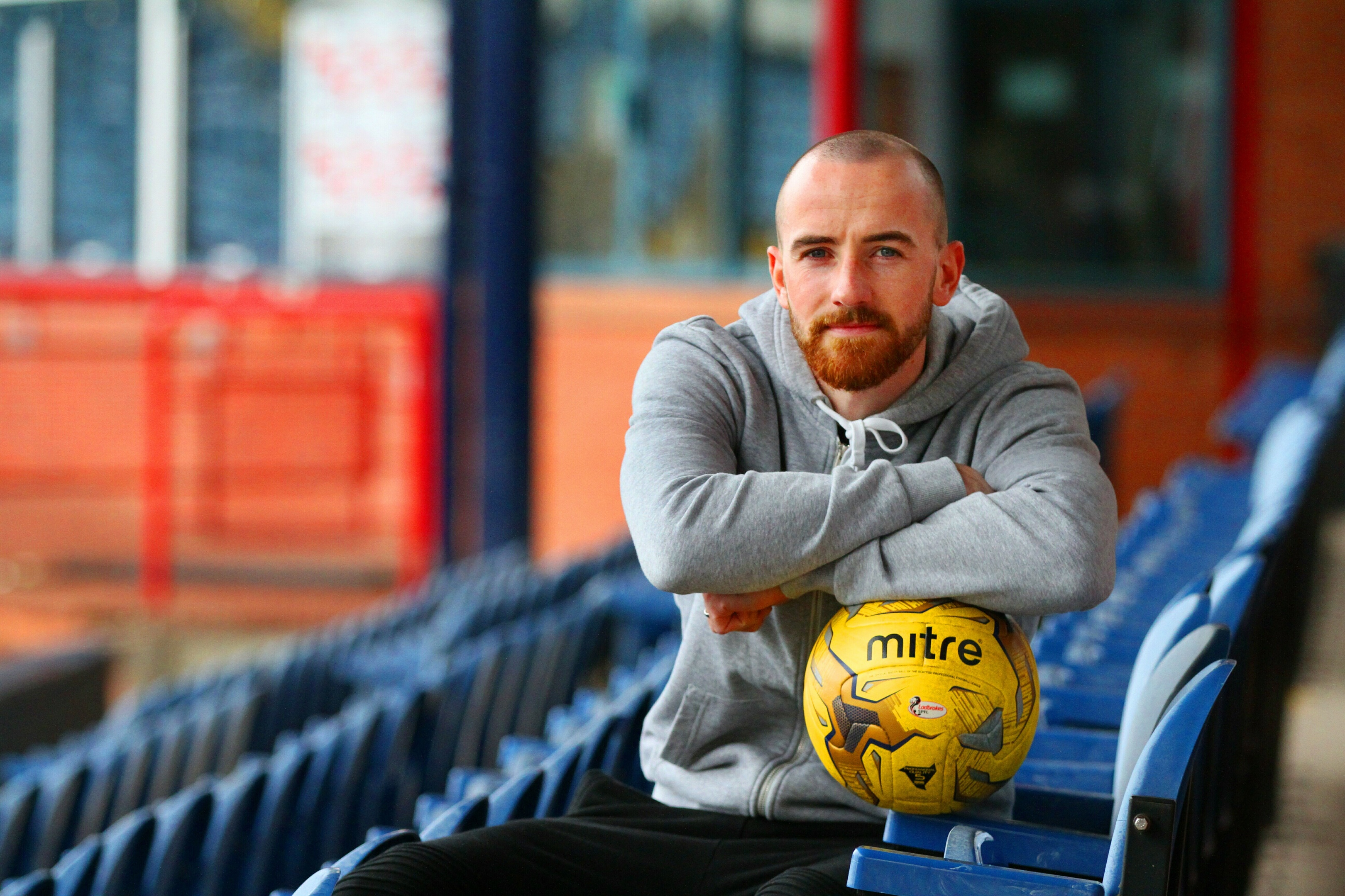 James Vincent is enjoying his best spell in the Dundee side.