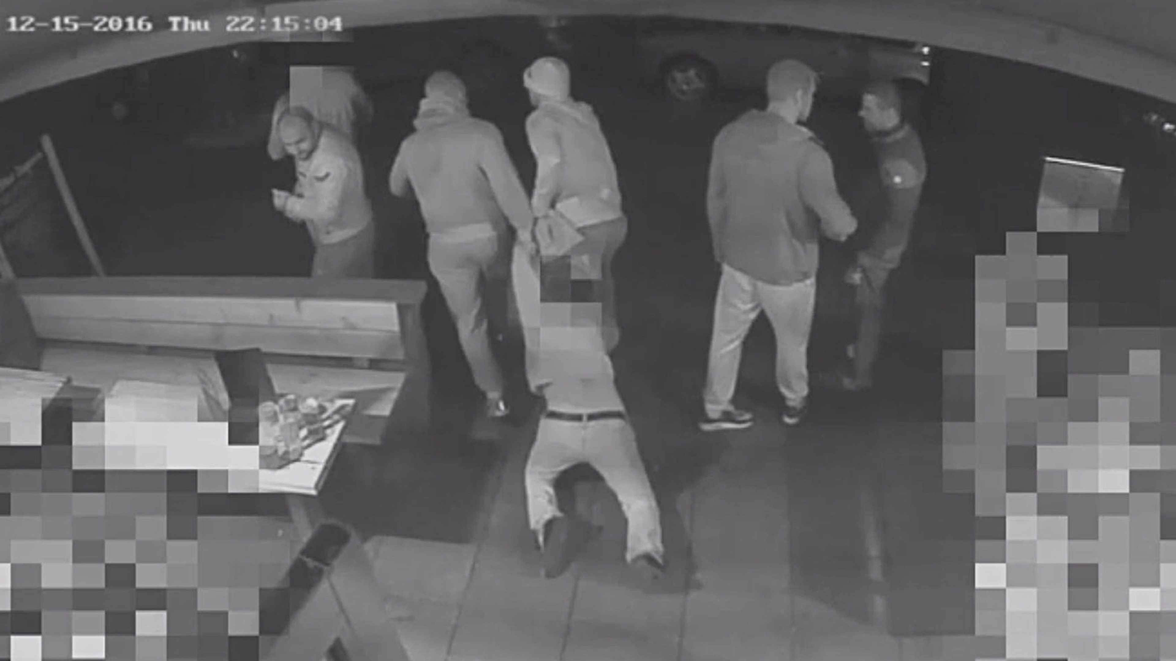 Police have released a 45-second clip as part of an appeal for information