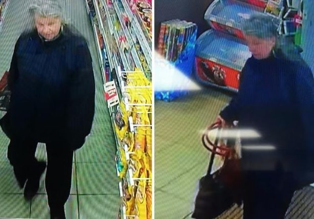 Sandra Summers was pictured by CCTV in a Kirkcaldy post office