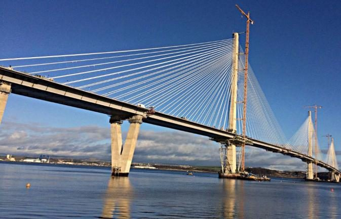 The Queensferry Crossing is usually mobbed with morning commuters. (Library image).