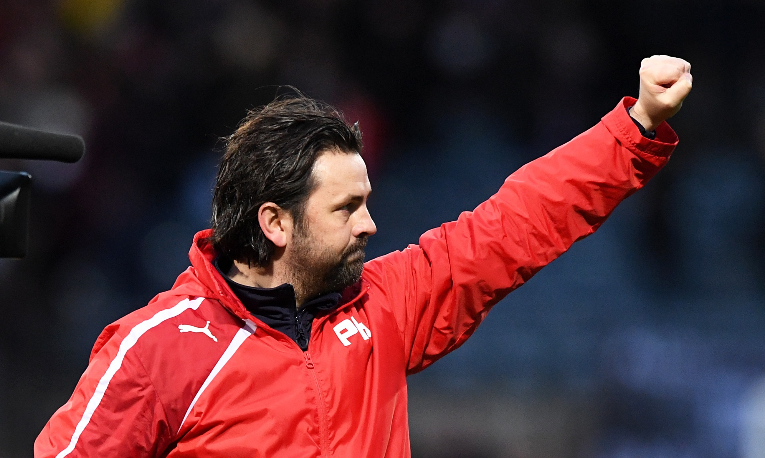 Dundee manager Paul Hartley hopes to build on his side's performance against Rangers.