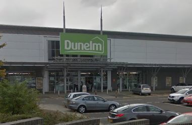 Dunelm at the Kingsway West Retail Park in Dundee