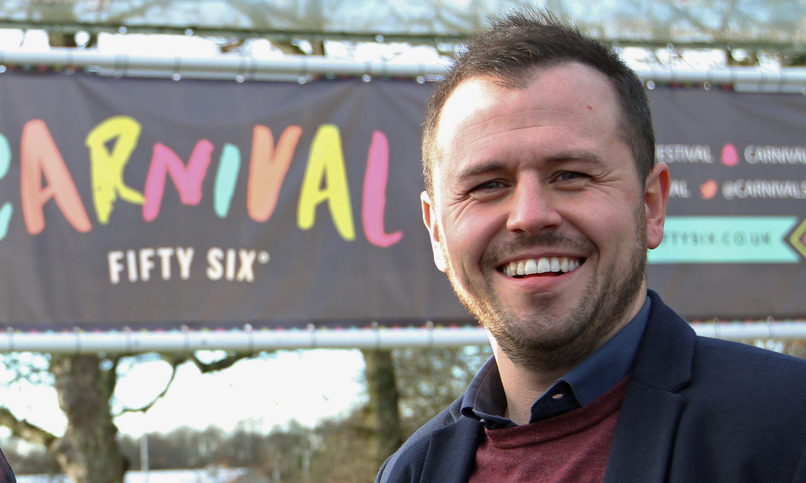 Festival director Craig Blyth