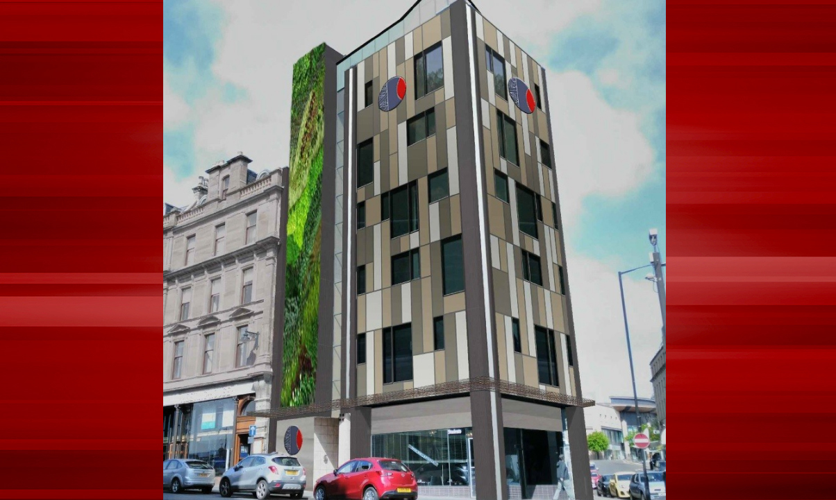 The hotel planned for Whitehall Crescent
