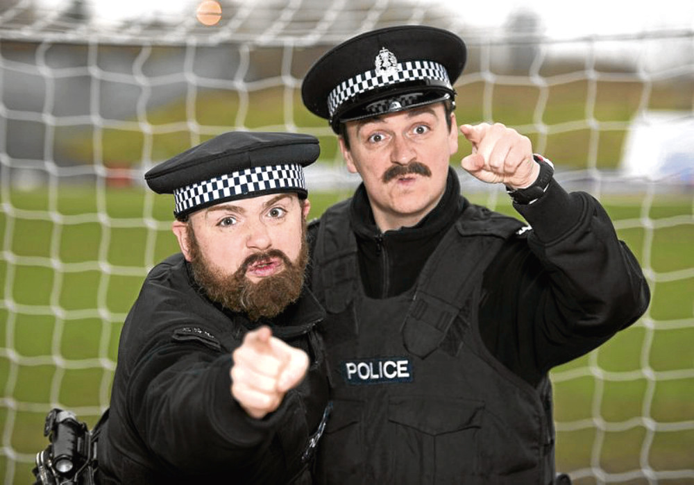 The comedy duo, best known for the Burnistoun TV show, will take to the stage in Dundee.