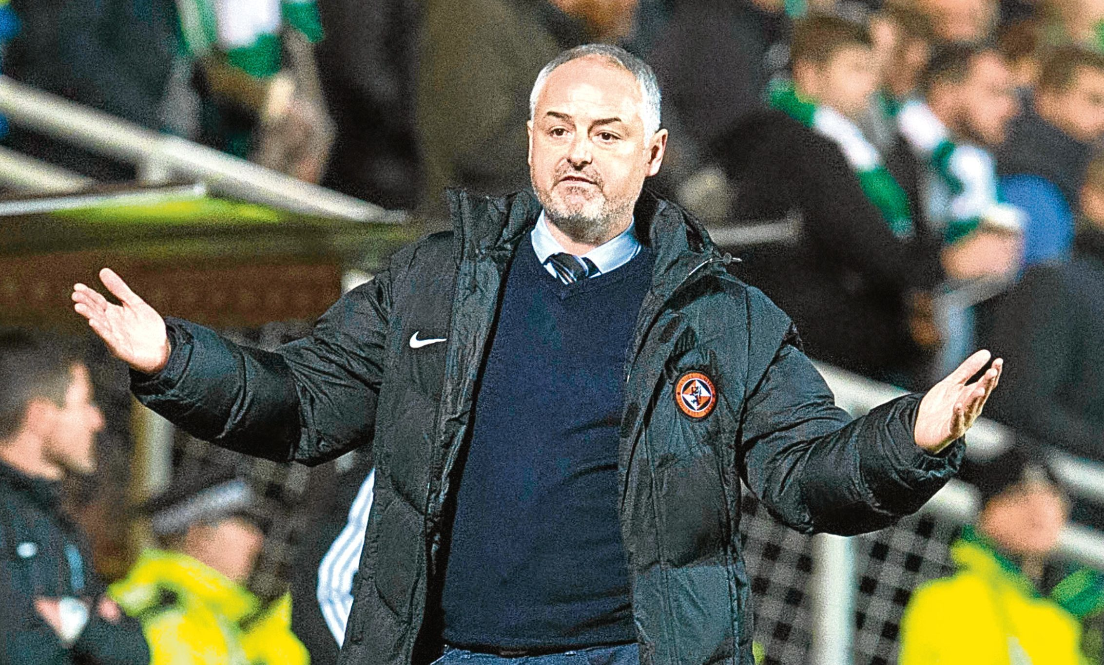 Dundee United boss Ray McKinnon knows his team are facing their most challenging period of the season.