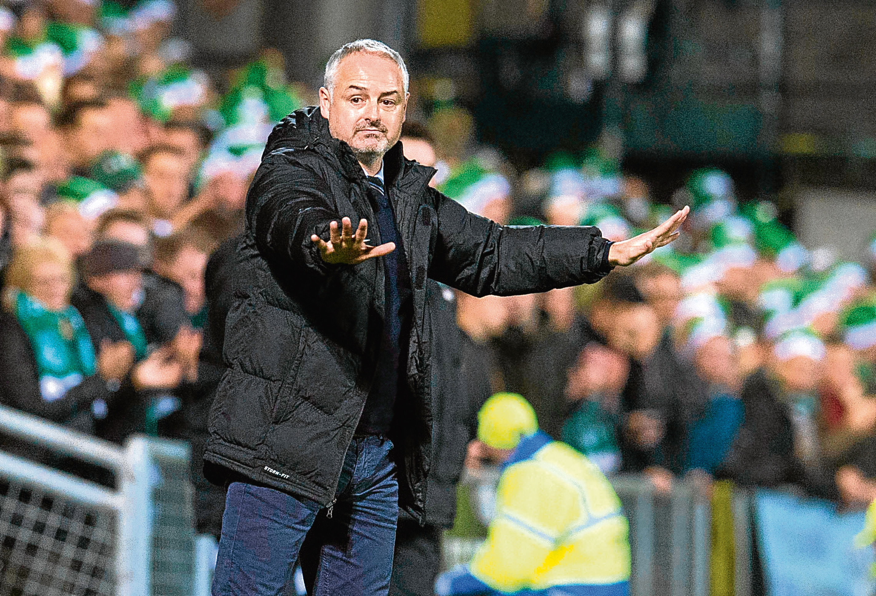 Dundee United manager Ray McKinnon knows there will be a lot to play for — even after the Hibs game at Tannadice this evening.