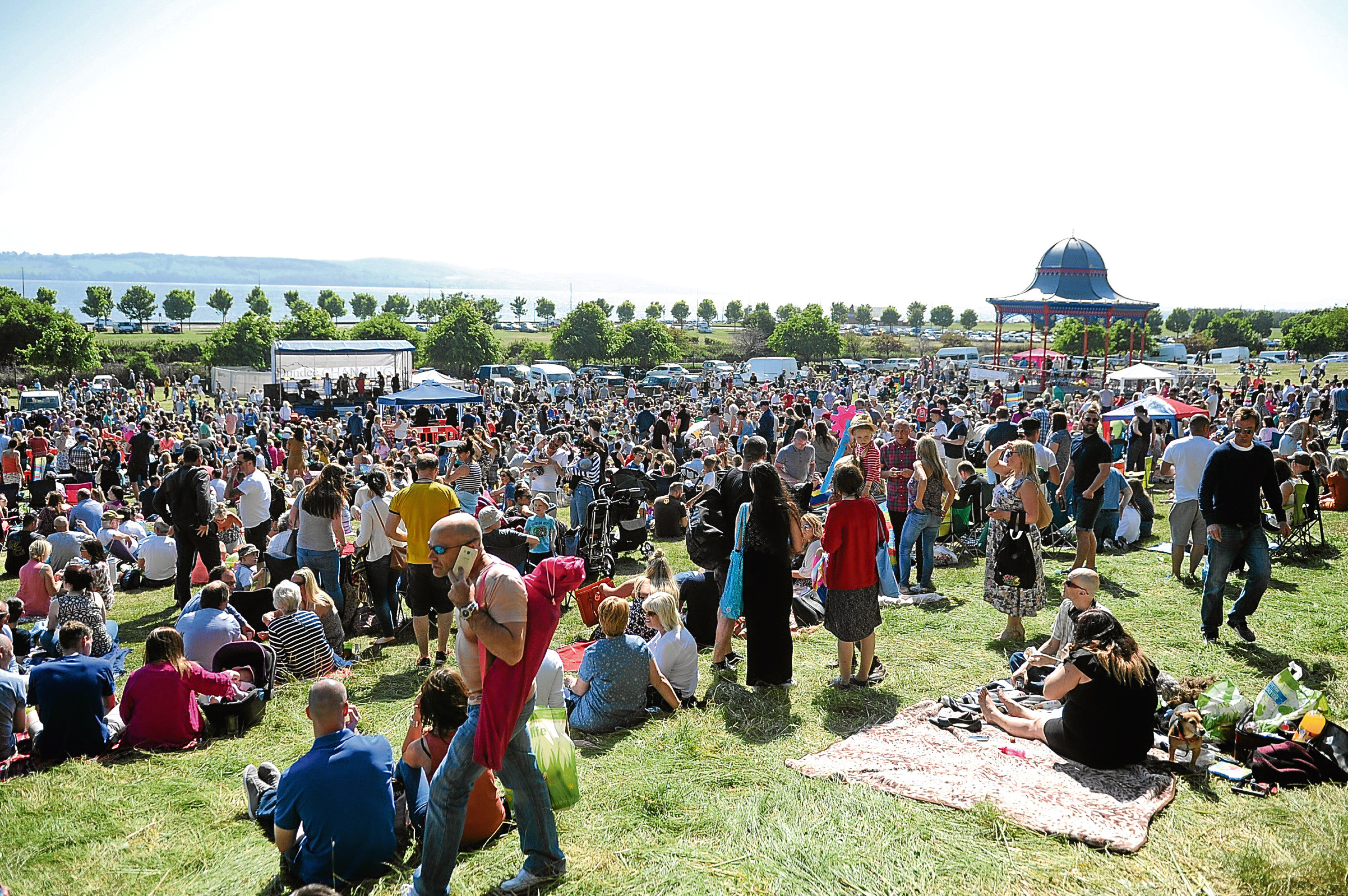 Part of the large crowd at last year's Westfest event