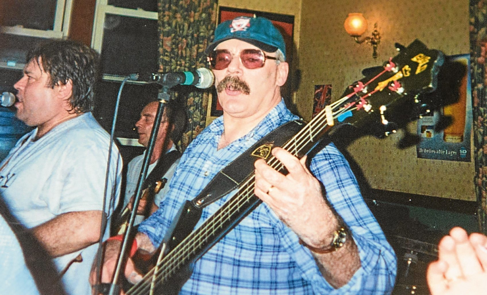 Ron Martin played in several bands in Dundee in a career spanning six decades