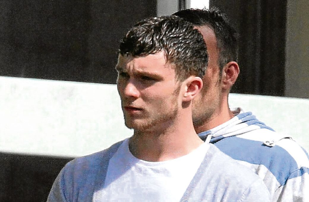 Ryan Lawson leaving Dundee Court