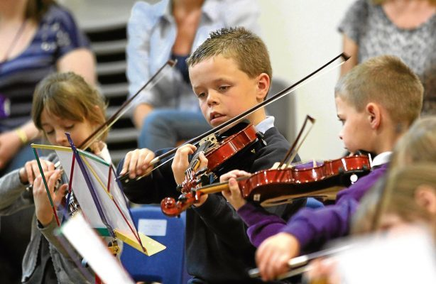 Big Noise Raploch Big Noise Orchestra is an orchestra programme that aims to use music making to foster confidence, teamwork, pride and aspiration in the children taking part, in Raploch, Stirling. It is run by the charity Sistema Scotland.